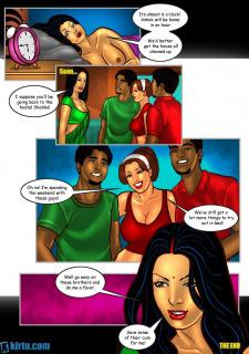 Savita Bhabhi 24- Mystery of Two porn comics 8 muses