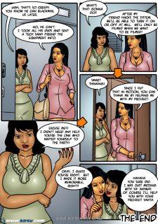 Savita Bhabhi 45- Savita Gains Job Security porn comics 8 muses