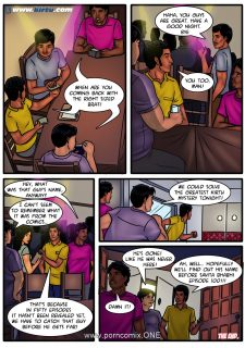 Savita Bhabhi 50- Back to Beginning porn comics 8 muses