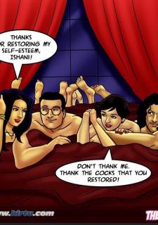 Savita Bhabhi 72- Savita loses her Mojo porn comics 8 muses