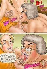 Grandma Memories- Seduced Amanda porn comics 8 muses
