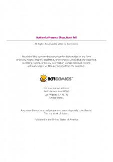 Show Don't Tell 1- Botcomics image 02