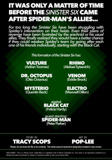 Sinister Six- Against the Black Cat image 2