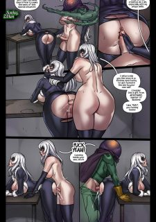 Sinister Six- Against the Black Cat image 6
