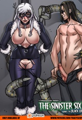 Sinister Six- Against the Black Cat image 16