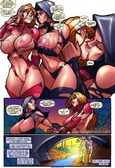 Sister Lux- Legio porn comics 8 muses