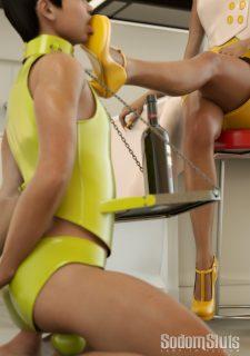 Sodom Sluts- Lady in Yellow image 7