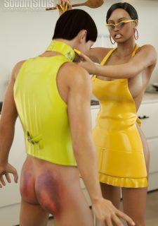Sodom Sluts- Lady in Yellow image 16