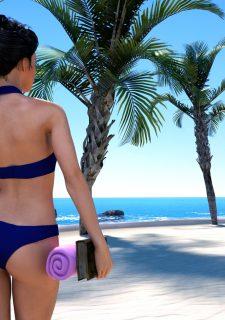 Sorceress Lori – Beach Day Part 3 image 2