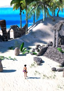Sorceress Lori – Beach Day Part 3 image 4
