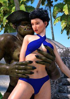Sorceress Lori – Beach Day Part 3 image 11