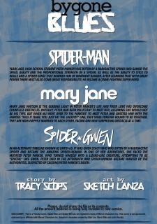Spider- Gwen Bygone Blues- Tracy Scops image 02