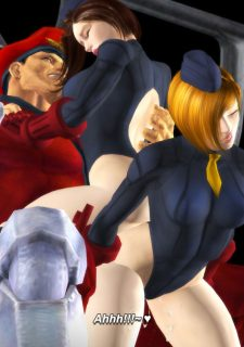 Street Fighter- Juni and Juli , M.Bison Sex Doll image 34