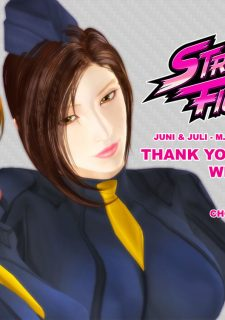 Street Fighter- Juni and Juli , M.Bison Sex Doll image 48