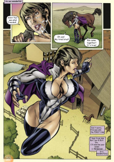 Superheroine Central- Susan Steel porn comics 8 muses
