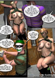 Superheroine-Green Specter 2 Mr X image 07