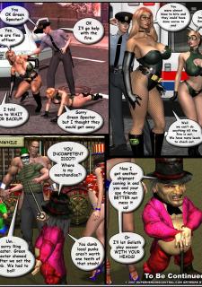 Superheroine-Green Specter 2 Mr X image 11
