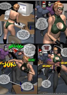 Superheroine-Green Specter 2 Mr X image 13