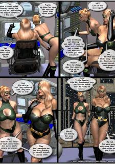 Superheroine-Green Specter 2 Mr X image 35