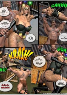 Superheroine-Green Specter 2 Mr X image 41