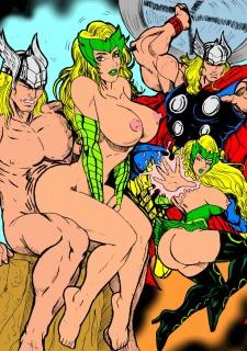 Superheros Fuck- Wolverino image 02