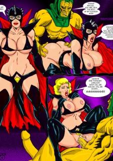 Superheros Fuck- Wolverino image 03