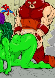 Superheros Fuck- Wolverino image 19