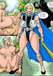 Superheros Fuck- Wolverino image 23