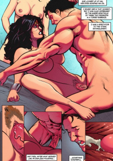 [Shade] Supertryst (Justice League) Sex Parody image 08