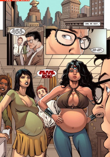 [Shade] Supertryst (Justice League) Sex Parody image 10