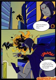 Teen Titans- Raven Vs. Slade 2 image 3