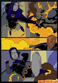 Teen Titans- Raven Vs. Slade 2 image 4