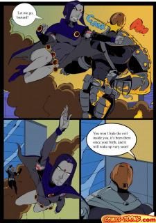 Teen Titans- Raven Vs. Slade 2 image 6