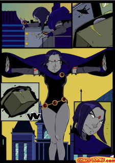 Teen Titans- Raven Vs. Slade 2 image 7