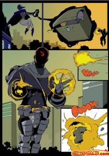 Teen Titans- Raven Vs. Slade 2 image 8