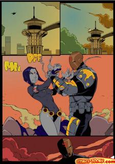 Teen Titans- Raven Vs. Slade 2 image 10