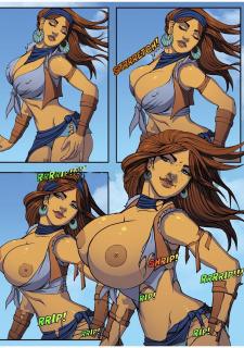 Thar BE GTS ZZZ Ep.1 & 2 Giant Girl Fantasy image 07