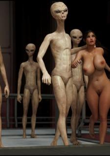 Erotic 3D Art (Blackadder) – Alien Nightmare image 3