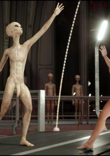 Erotic 3D Art (Blackadder) – Alien Nightmare image 7