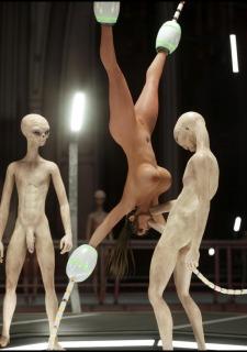 Erotic 3D Art (Blackadder) – Alien Nightmare image 22