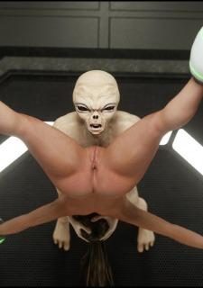 Erotic 3D Art (Blackadder) – Alien Nightmare image 26
