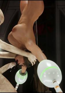 Erotic 3D Art (Blackadder) – Alien Nightmare image 28