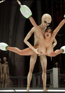 Erotic 3D Art (Blackadder) – Alien Nightmare image 34