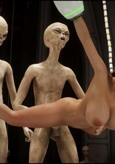 Erotic 3D Art (Blackadder) – Alien Nightmare image 37