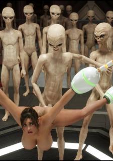 Erotic 3D Art (Blackadder) – Alien Nightmare image 38