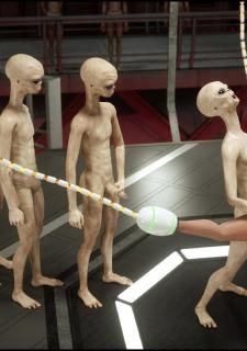 Erotic 3D Art (Blackadder) – Alien Nightmare image 41