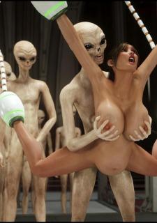 Erotic 3D Art (Blackadder) – Alien Nightmare image 45