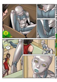 The Robot- Innocent Dickgirls image 5