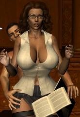 Secret of Teacher Azalea- Rickfoxxx image 13