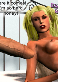 The Vodoo Doll- 3D Interracial image 5